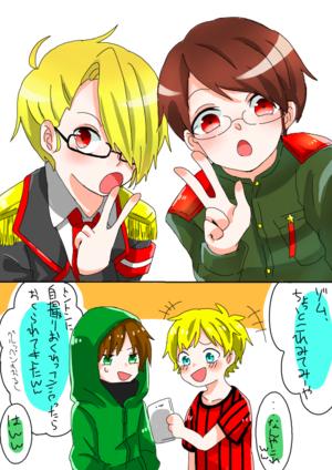 我々だの2コマ漫画を描きます キャンバス詳細 Kakooyo